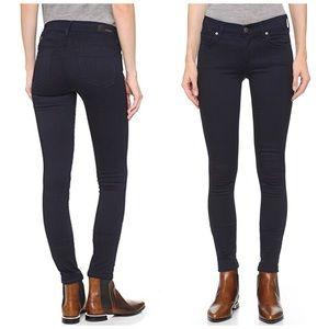 AGOLDE Cole Black Skinny Leg Jeans 24